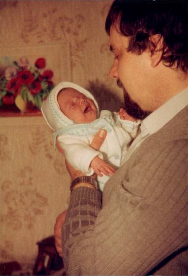 Papa und Anni