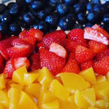 Fresh Fruit Flag