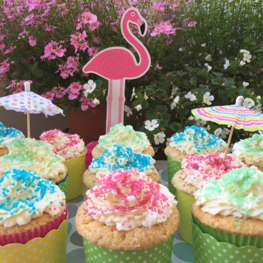 Cocos cupcakes holiday style