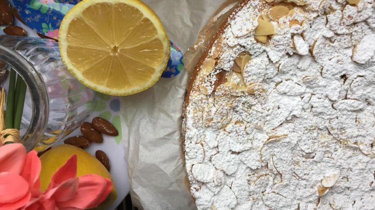 Schwedischer Mandelkuchen