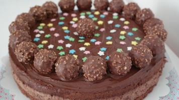 Annibackt Rocher-Torte