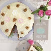 Anni backt Kuchen