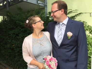 Nina und Stephan heiraten