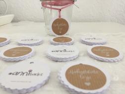 Hochzeits-Etiketten