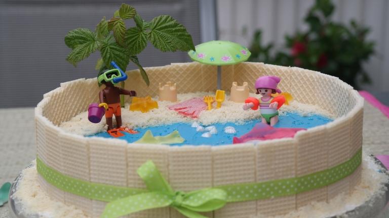 Schwimmbadtorte by Annibackt