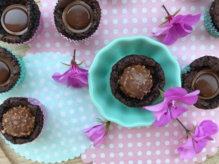 Anibackt Mini-Brownies