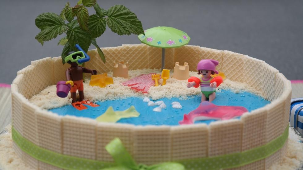 Strand-Torte für Kinder by Annibackt