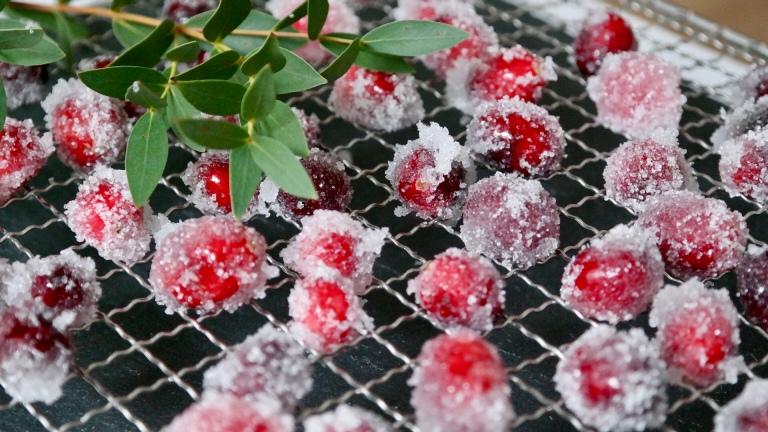 Gezuckerte Cranberries