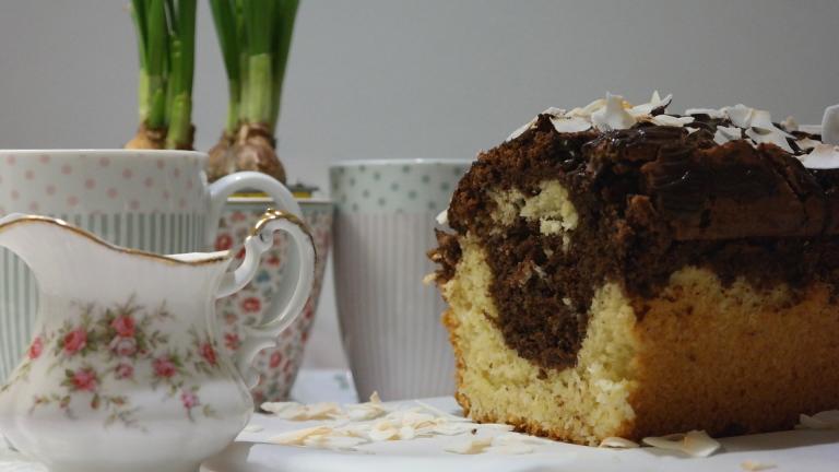 Marmor-Kokos-Kuchen