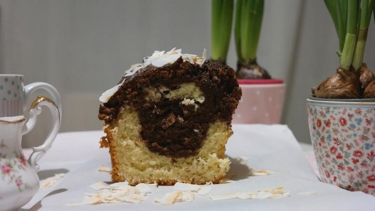 Mamorkuchen mit Schoko und Kokos