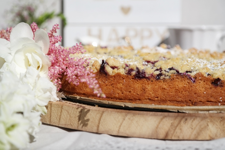 Heidelbeer-Streuselkuchen by Annibackt