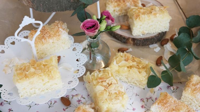 Kokos-Mandel-Kuchen