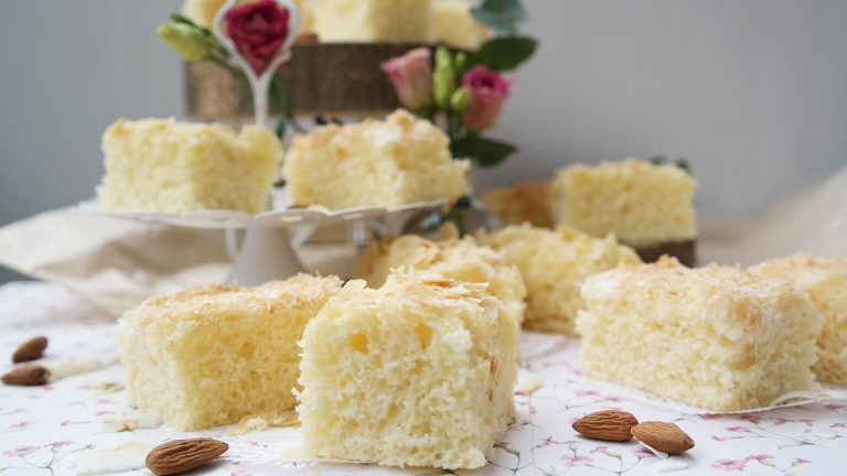 Buttermilchkuchen vom Blech