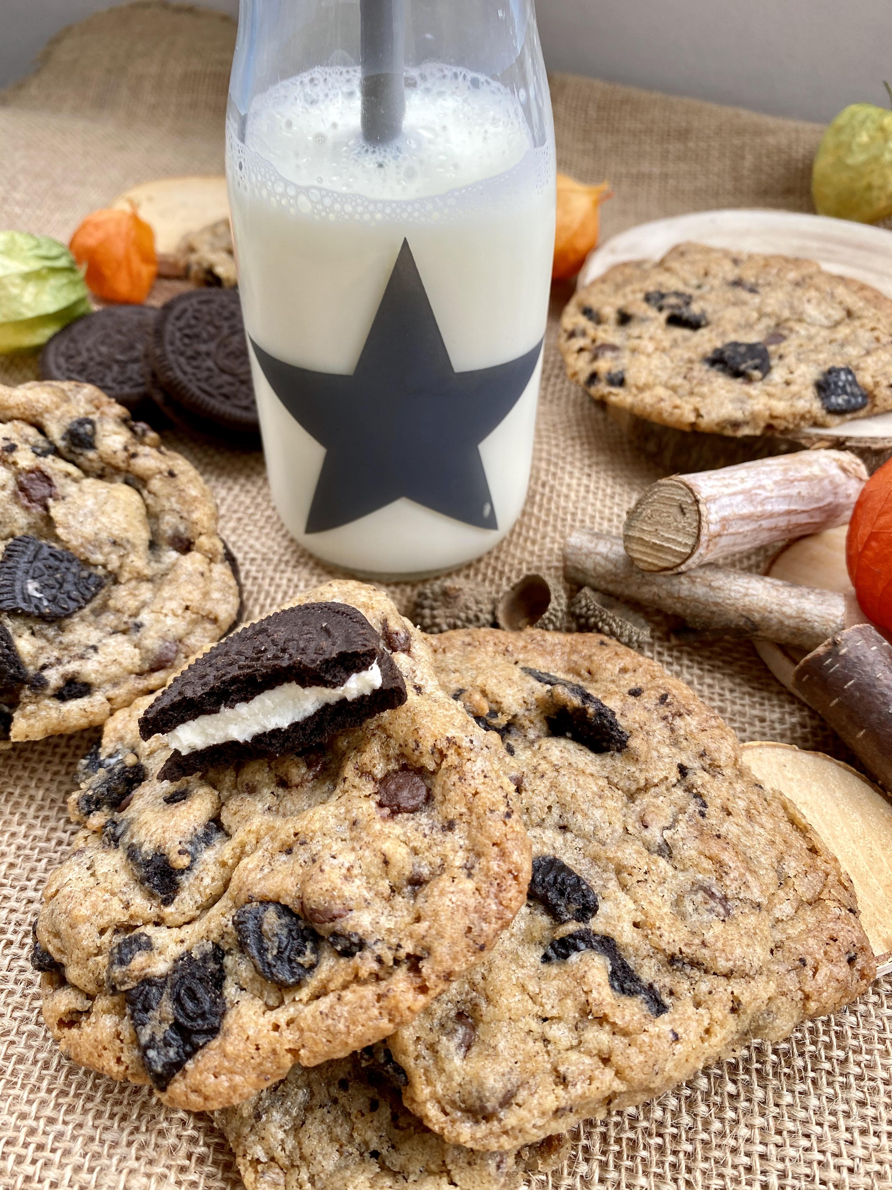 Cookies mit Oreos