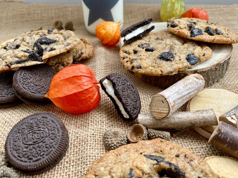 Herbstrezept Oreocookies