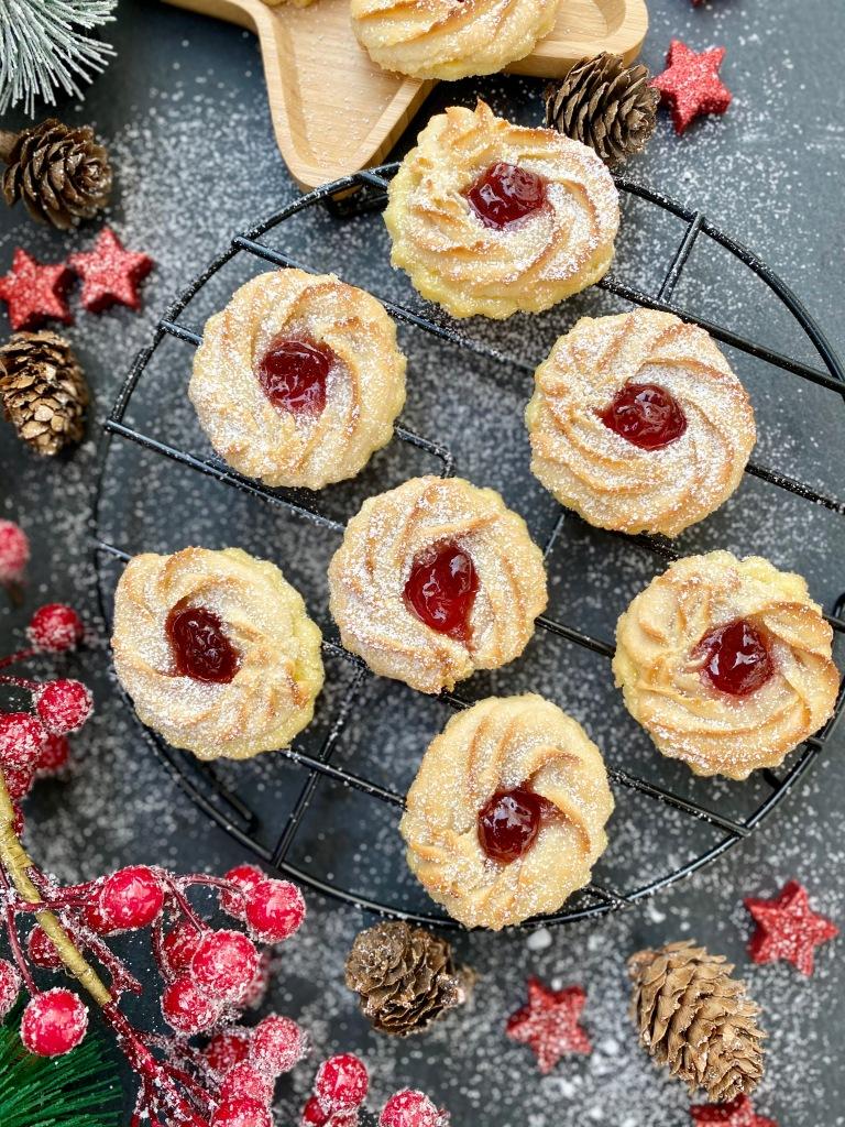 Ochsenaugen Kekse