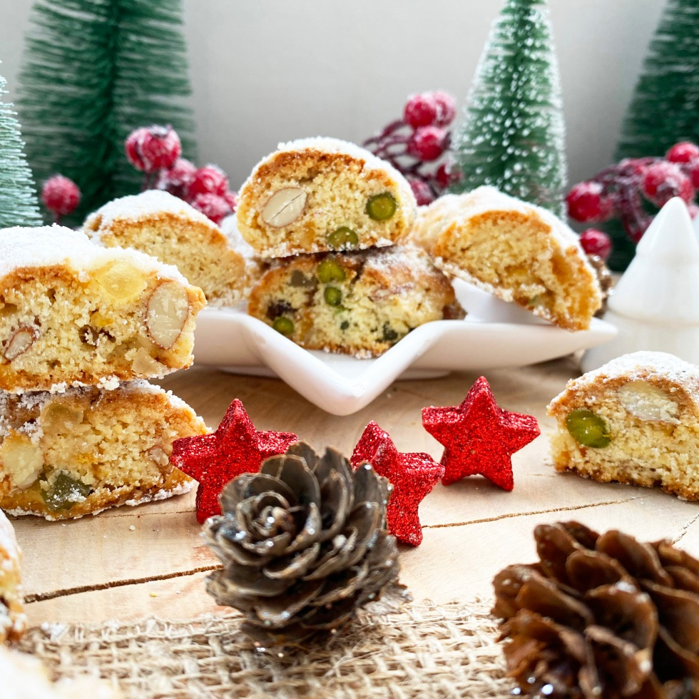 Christstollen-Cantuccini