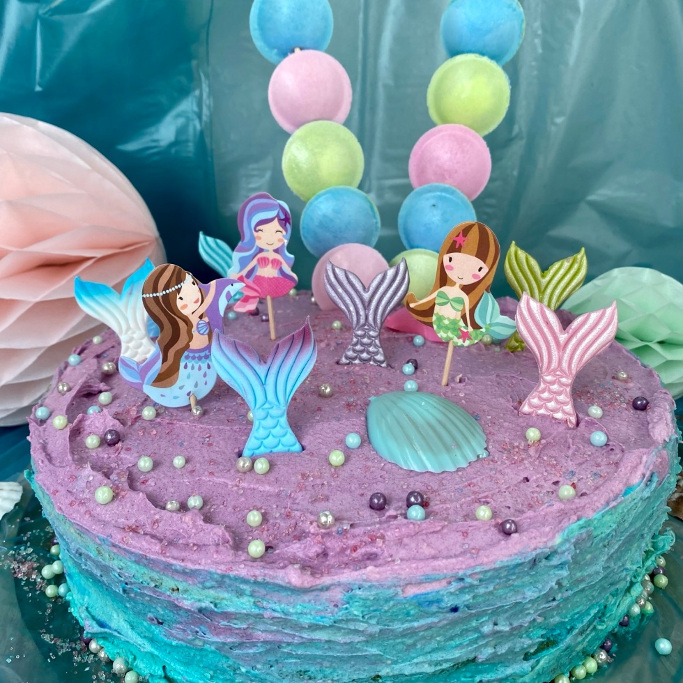 Anni backt Mermaid Cake