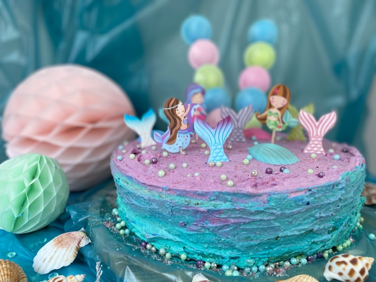 Mermaid Cake by Annibackt